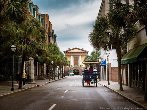 Horse and Carriage Charleston