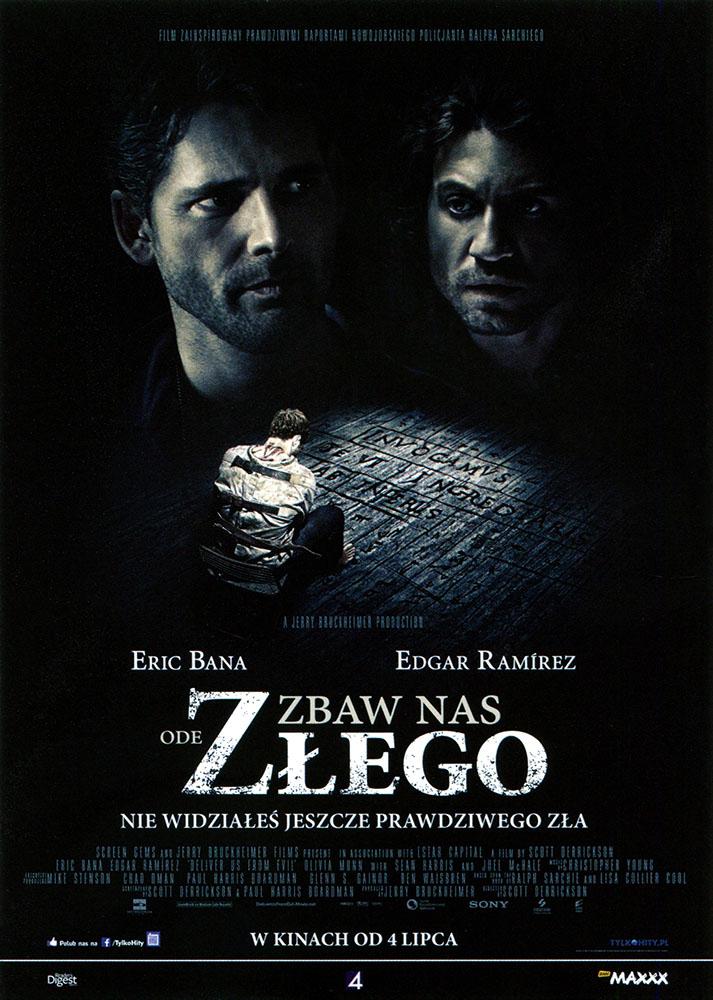 Ulotka filmu 'Zbaw Nas Ode Złego (przód)'