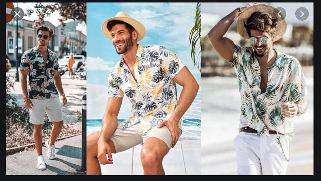 Men Beach Clothes Collection