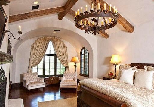 Thiết kế phòng ngủ kiểu Âu cho mùa thu đông ấm áp-3