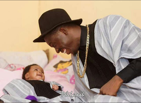 Akpororo shares cute photo with his daughter