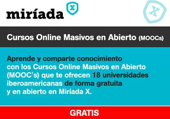 Universidades españolas ofrecen cursos online GRATIS