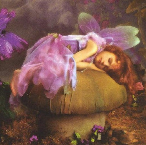 Sleaping Fairy, Fairies Girls
