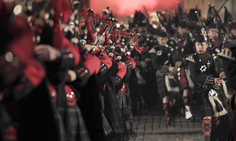 Royal Edinburgh Military Tattoo. Credit edintattoo.co.uk