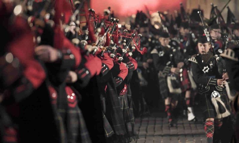 Royal Edinburgh Military Tattoo. Credit edintattoo.co.uk