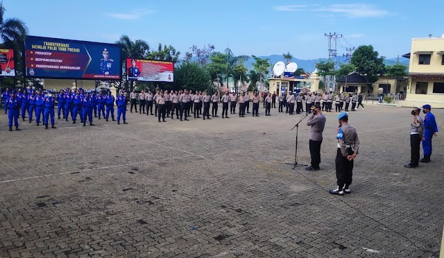 Polda Lampung Apel Kesiap-Siagaan Guna Antisipasi Konflik Sosial May Day