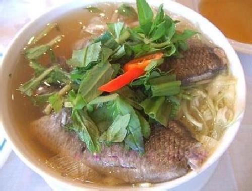 Cá rô đồng nấu khế