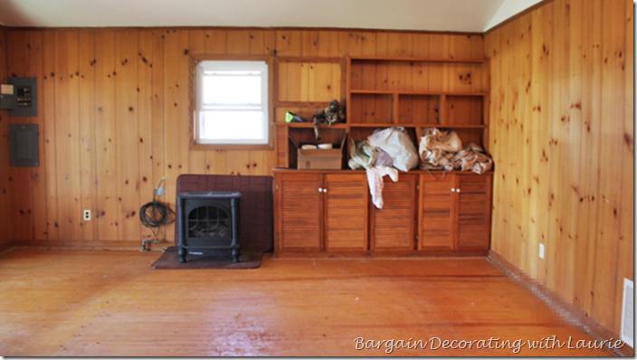 Floor under Carpet in lake house