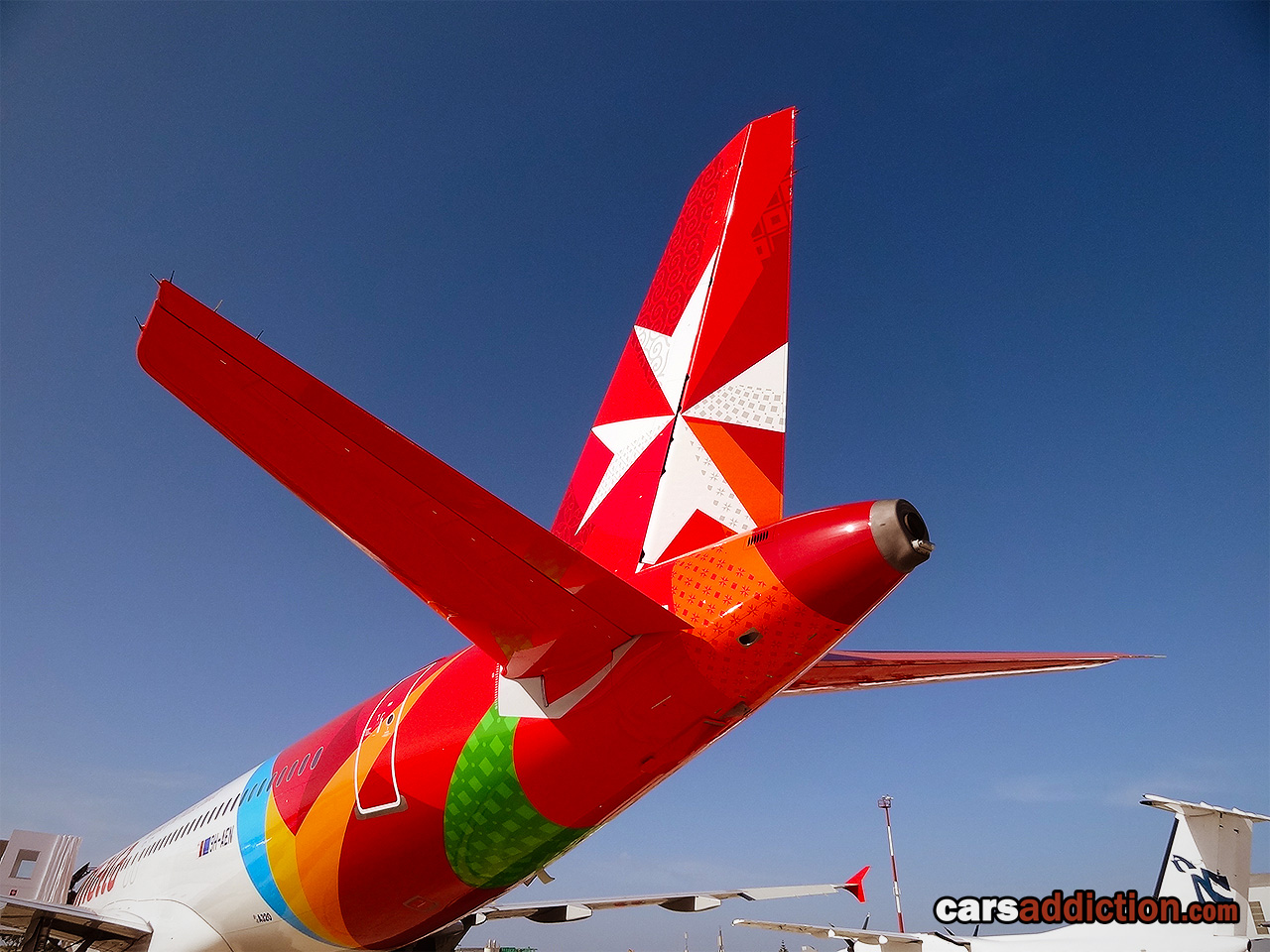 New 2012 Air Malta Tail
