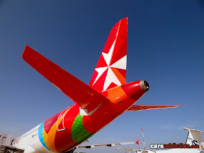 New 2012 Air Malta tail