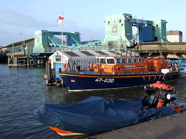 31 January 2013 - Poole's relief lifeboat David Robinson. Photo credit: Kevin Mitchell