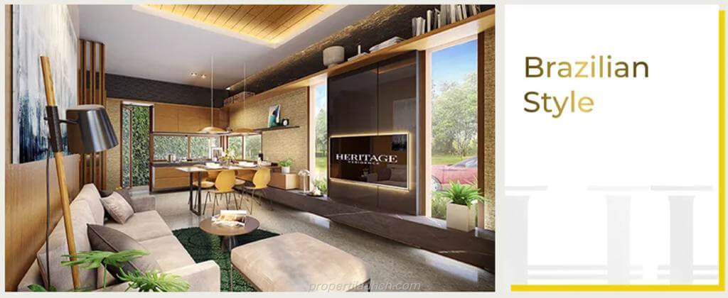 Interior Design Rumah Puri 11 Heritage Residence - Brazilian Style