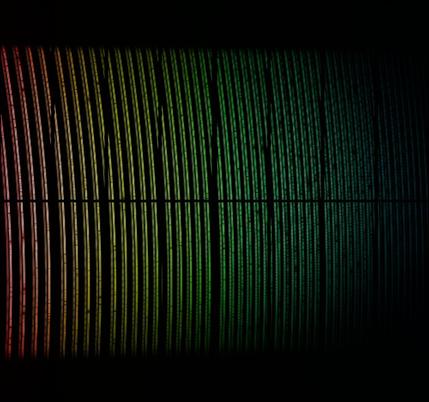 dados espectroscópicos da primeira luz do instrumento ESPRESSO