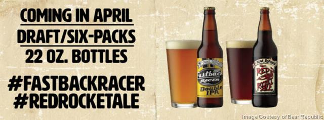 Bear Republic Releasing Fastback Racer™ & Red Rocket Ale® Seasonals