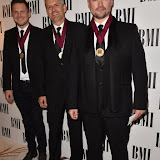 OIC - ENTSIMAGES.COM - The Invisible Men - George Astasio, Jason Pebowrth and John Shave at the  BMI London  Awards 2015 in London  19th October 2015 Photo Mobis Photos/OIC 0203 174 1069