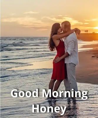 good morning honey gif