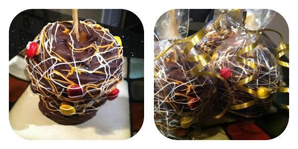 Gourmet Caramel Chocolate Apple Recipe