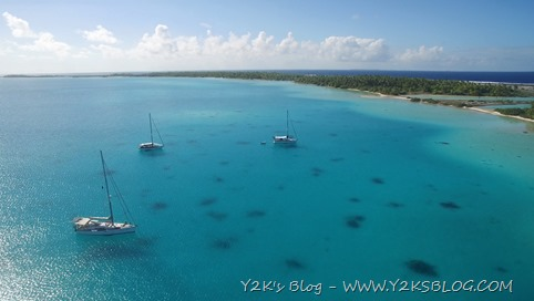 Y2K, Meccetroy e Anthea nell'ancoraggio di NE - Raroia
