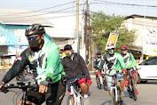 Gowes Sepeda Santai Makodim 0604/Karawang - Koramil 0408/Cilamaya