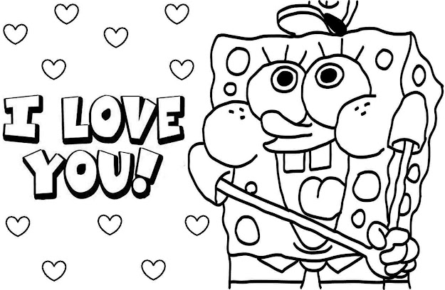 Sponge Bob Coloring Pages