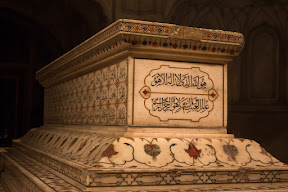 The sarcophagus of Emperor Jahangir, who died in 1627