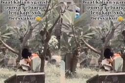 Bikin Haru, Video Bocah Pergi Ziarah Kubur Sendirian Sambil Baca Yasin