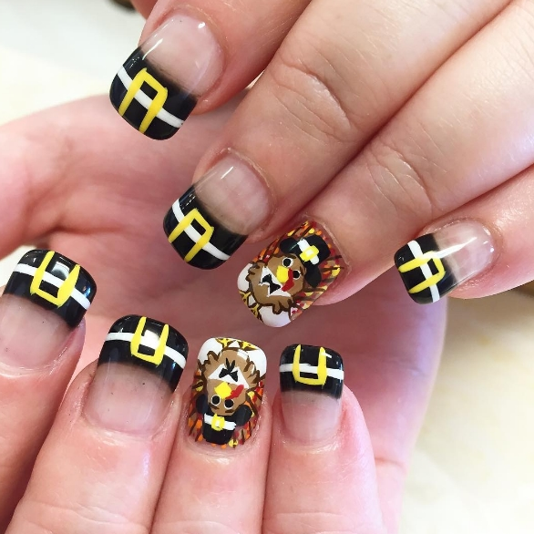 13 NEWEST THANKSGIVING NAIL ART DESIGNS | Fashionte