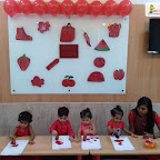Red Day Celebration by Playgroup Section at Witty World, Bangur Nagar (2018-2019)