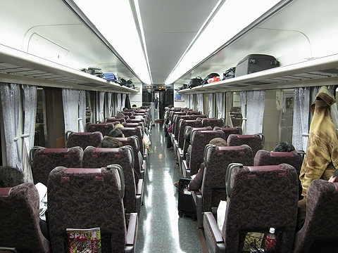 JR東海 373系「ムーンライトながら」 車内