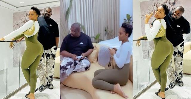 'Don Jazzy Don f##k This Nyarsh' – Nigerians React To Lovely Photos Of BBNaija Star, Lilo & Don Jazzy [Video]