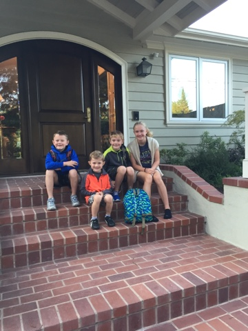 The Riley Family: Happy first day of school!!