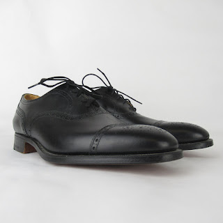 New & Lingwood Brogue Leather Oxford Shoes