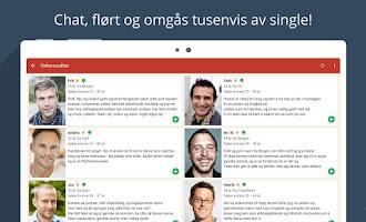 Screenshot of Møteplassen - date single