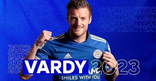 Jamie Vardy Signs Contract Extension At Leicester City