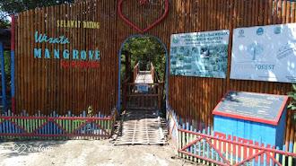 Taman Wisata Mangrove Cilebar Ditutup Selama PSBB di Berlakukan di Kabupaten Karawang