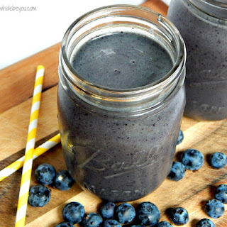 Anti-Inflammatory Blueberry Smoothie.