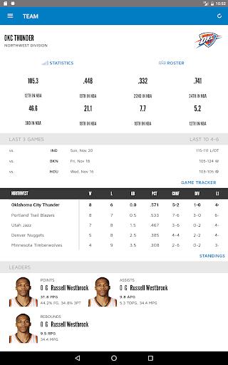 Oklahoma City Thunder 2.2.6 screenshots 9