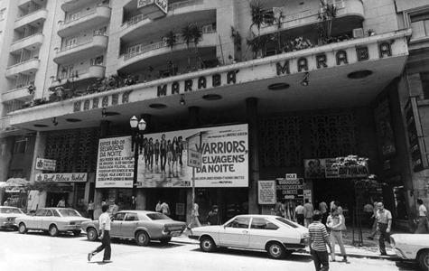 Brasil, São Paulo, SP, 28/12/1979. O Cine Marabá, localizado no centro da capital paulista. Foto: Fernando Pimentel/AE Pasta: 17000