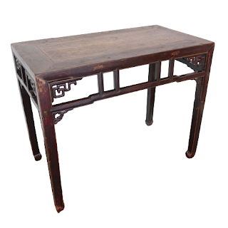 Chinese Elm Lacquered Hall Table