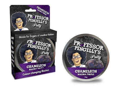 Professor Pengelly's Putty - Chameleon Magma Purple