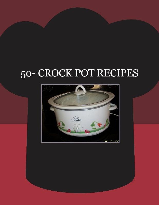 50- CROCK POT RECIPES