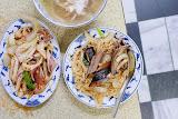 灣裡 鱔魚/花枝意麵