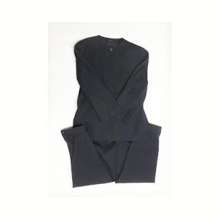 Gucci Vintage Navy Blue Pant Suit