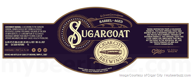 Cigar City El Catador Club - Barrel-Aged Sugarcoat & Moat Water