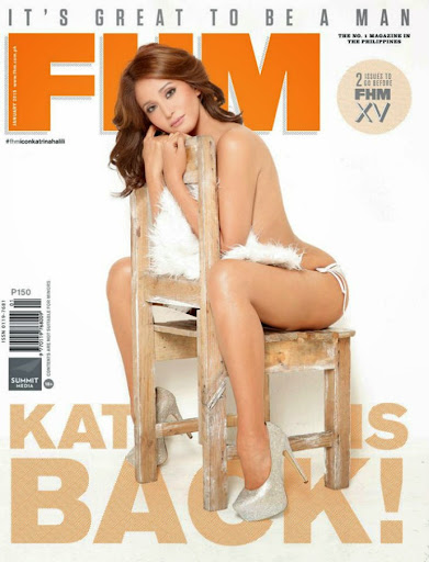 photo katrina halili fhm january 2015 cover girl