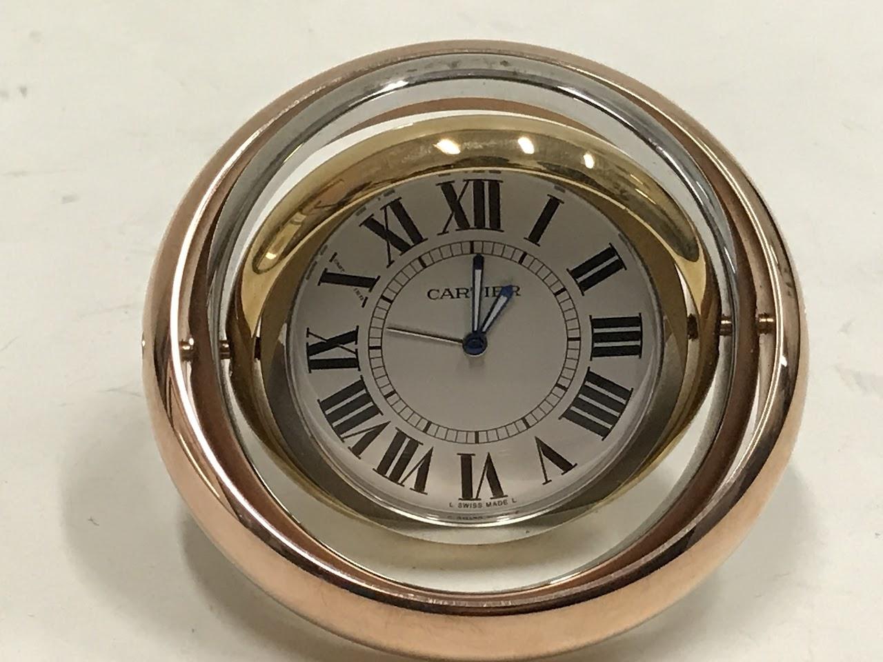 Cartier trinity travel alarm clock shophousingworks share it amipublicfo Images