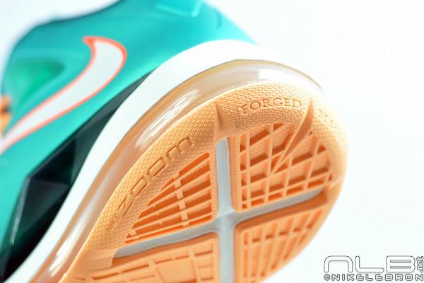Release Reminder Nike LeBron X Setting aka Miami Dolphins