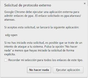 Añadir repositorios con un clic en Ubuntu, Linux Mint, Elementary. Navegador.