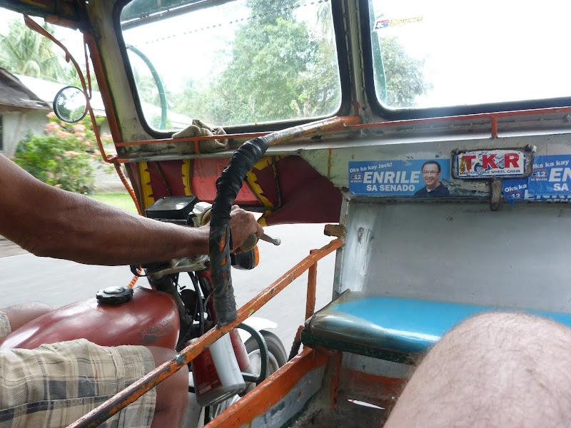 En route de Dauin pour Dumaguete, 12 kms
