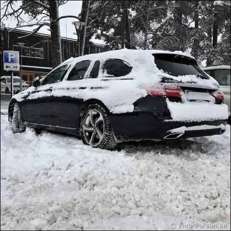 Mercedes-Bakhjulsdrift
